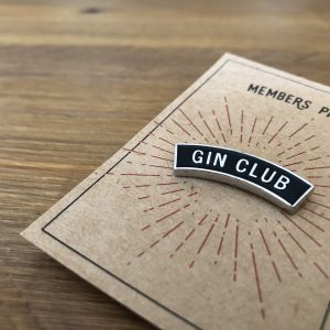 Gin Club Pin Badge