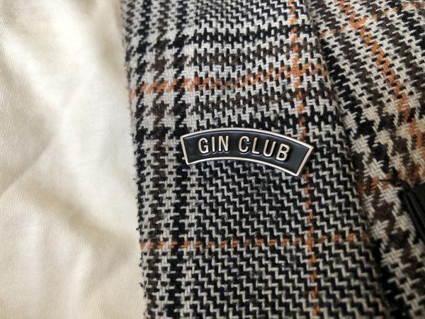 Gin Club Lapel Pin